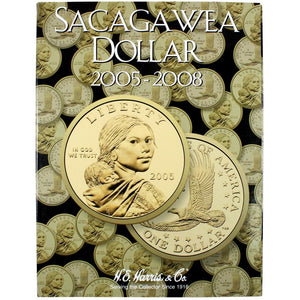 Harris Folder: Sacagawea Dollars - 2005-2008