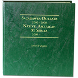 Littleton Album for Sacagawea Dollars 2000-2008/Native American Dollars 2009- LCA59