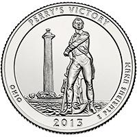National Park Quarter: 2013 Perry's Victory (D)