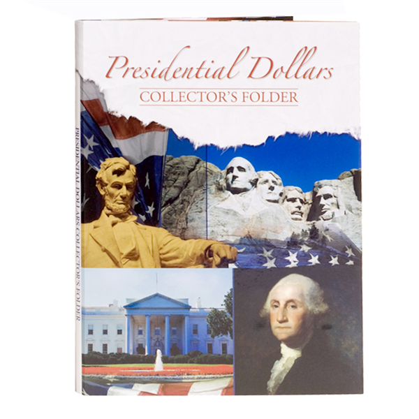 Whitman Folders: Presidential Dollar Folder 2007-2016 (44 ports) #2179