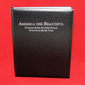 America The Beautiful 5oz Silver Coin Album