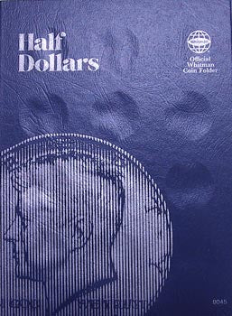 Whitman Folder: Half Dollars Plain
