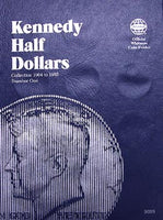 Whitman Folder: Kennedy Half Dollars #1: 1964-1985