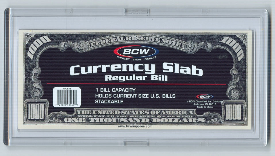 BCW Modern Currency Slab