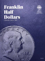 Whitman Folder: Franklin Half Dollars- 1948-1963