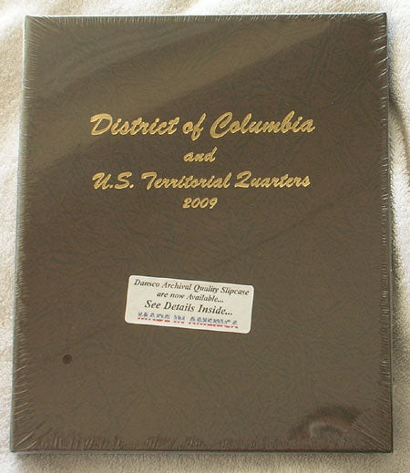Dansco Album #7144 for Territorial Quarters P & D Mints