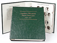 Littleton Album for Walking Liberty Half Dollars 1916-1947