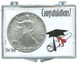 Marcus Snap Lock Silver Eagle: Graduation