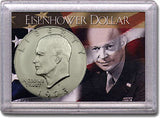 HE Harris Frosty Case: Eisenhower Dollars