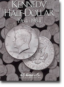 Harris Folder: Kennedy Half Dollars #1 1964-1984