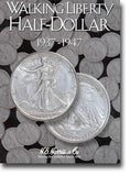 Harris Folder: Walking Liberty Half Dollars #2 1937-1947