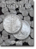Harris Folder: Walking Liberty Half Dollars #1 1916-1936