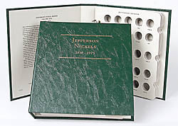 Littleton Album for Jefferson Nickels 1938-1975