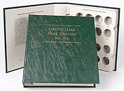 Littleton Album for Barber/Liberty Half Dollars 1892-1915