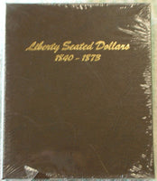 Dansco Album #6171 for Liberty Seated Dollars