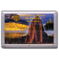 HE Harris Frosty Case: National Park Quarters Mountian 6 Holes
