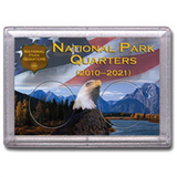 HE Harris Frosty Case: National Park Quarters Canyon/Eagle 2 Holes