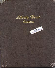 Dansco Album #7130 for Liberty Head Quarters: 1892-1916