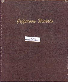 Dansco Album #7113 for Jefferson Nickels: 1938-2005