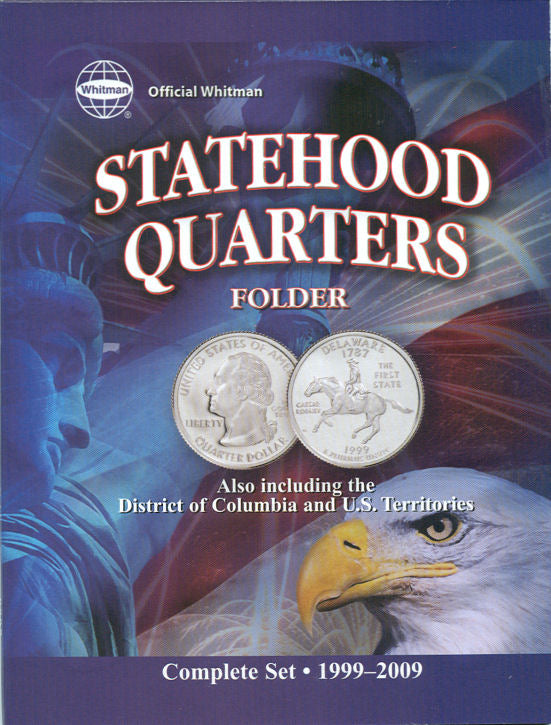 Whitman Folder: Official State Quarter- 1999-2009