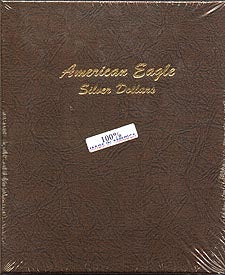 Dansco Album #7181 for American Silver Eagles: 1986-Date