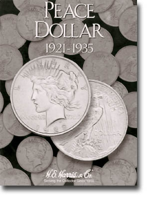 Harris Folder: Peace Dollars 1921-1935