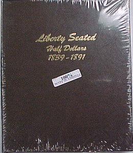 Dansco Album #6152 for Liberty Seated Half Dollars