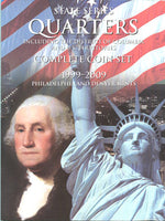 Harris Folder: State Quarters (120 openings) 1999-2009
