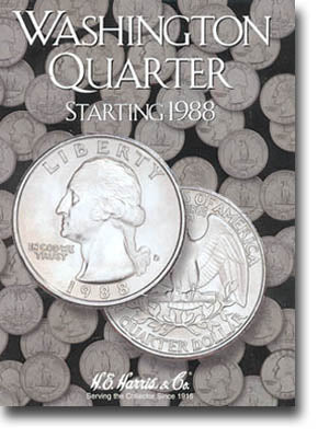Harris Folder: Washington Quarters #4 1988-1998
