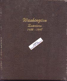Dansco Album #7140 for Washington Quarters: 1932-1998