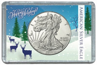 HE Harris Frosty Case for Silver Eagles: Happy Holidays