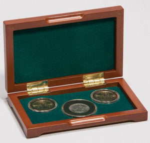 PC-2 Wood Coin Presentation Case
