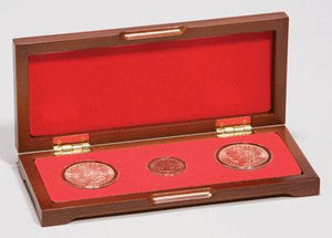 PC-3 Wood Coin Presentation Case