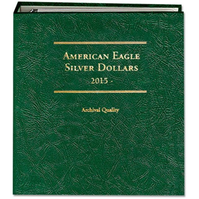 Littleton Album for American Silver Eagles 2015-Date P&W LCA79