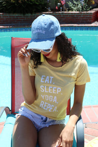 Eat Sleep Yoga Repeat Tshirt - Prfcto Lifestyle