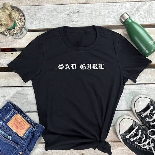 SAD GIRL Tshirt - Prfcto Lifestyle