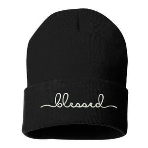 Blessed Cuffed Beanie Hat - Prfcto Lifestyle