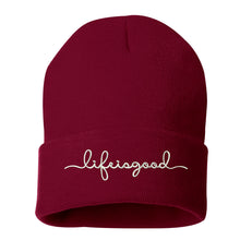 Load image into Gallery viewer, Life is good Cuffed Beanie - Prfcto Lifestyle
