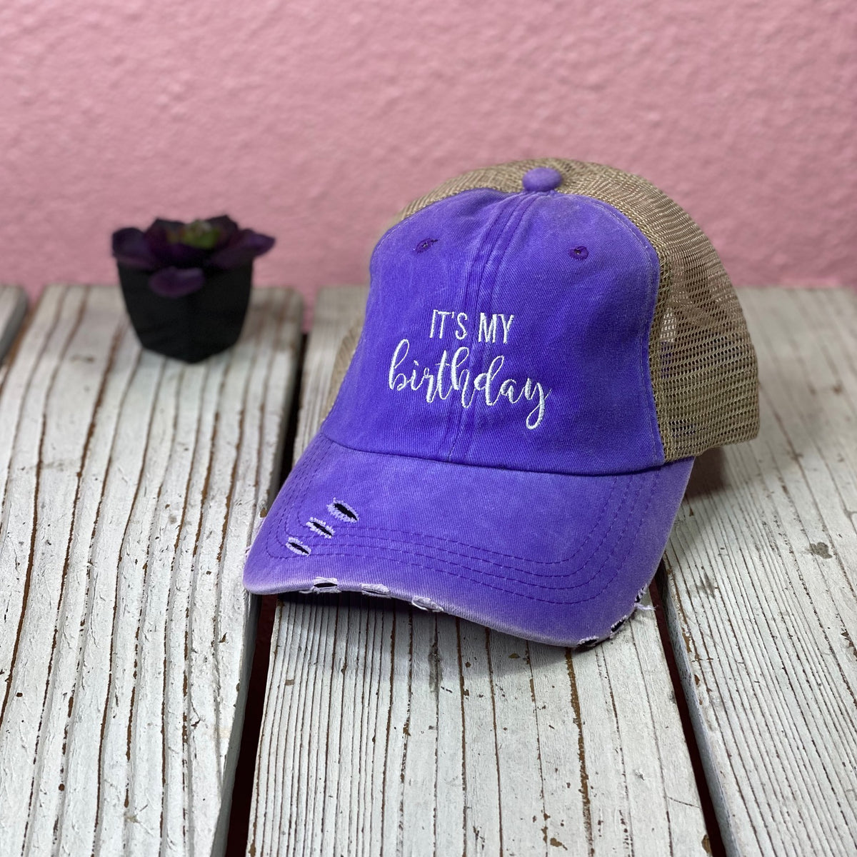 It's My Birthday Trucker Hat - Prfcto Lifestyle