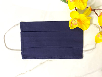 Adult Face Mask Covers, Cloth Mask Coverings, Cotton Face Masks, Face Mask with Filter Pocket, Mask, Protective Mask, Face Cover, Cloth Face Mask, Navy Face Mask, Made in LA
