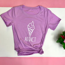 Load image into Gallery viewer, Ice Cream Addict Tshirt - Prfcto Lifestyle