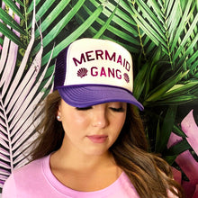 Load image into Gallery viewer, Mermaid Gang Trucker Hat