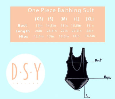 Customize your One Piece Swimsuit - Prfcto Lifestyle