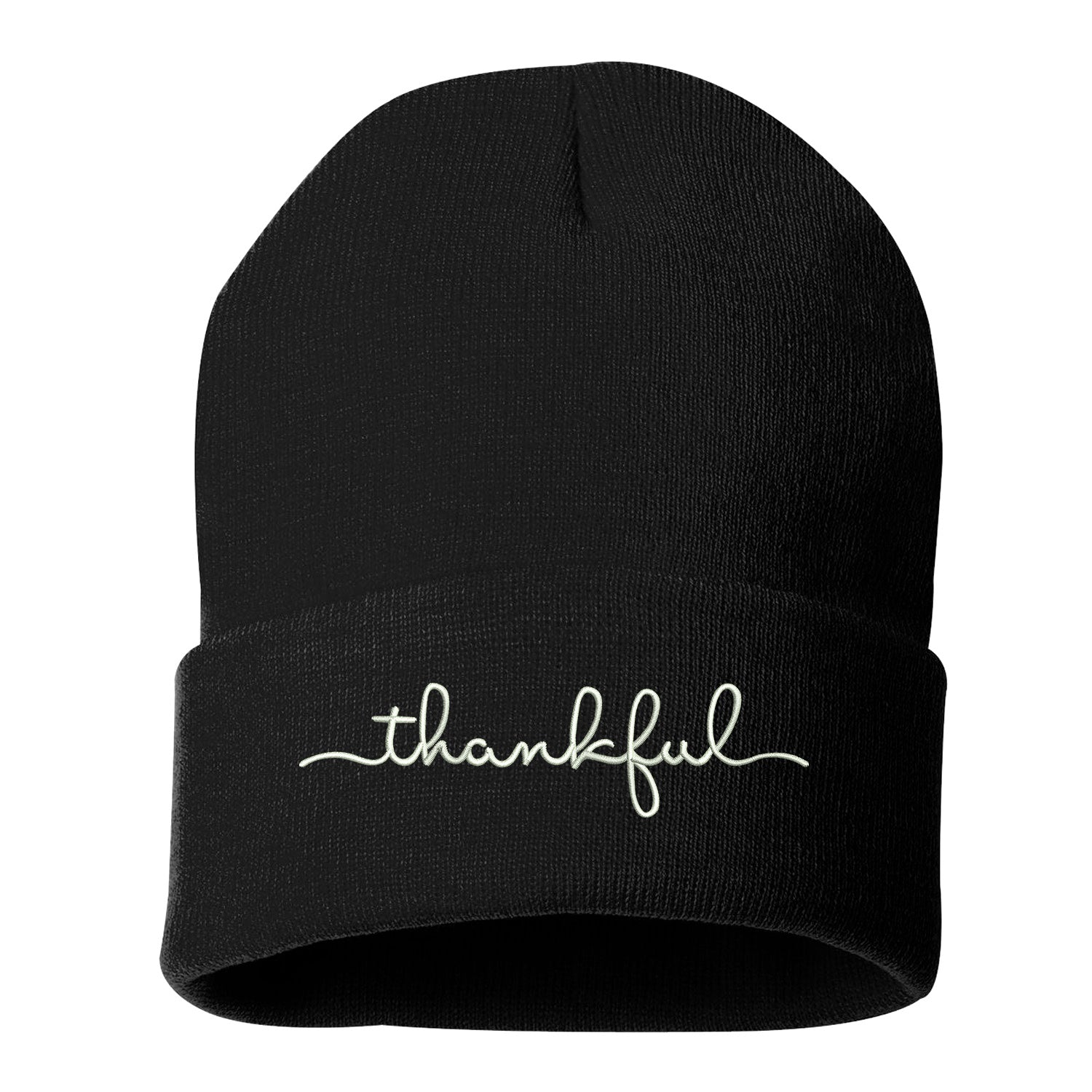 Thankful Cuffed Beanie - Prfcto Lifestyle