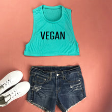 Load image into Gallery viewer, VEGAN Cropped Muscle Tank Top - Prfcto Lifestyle