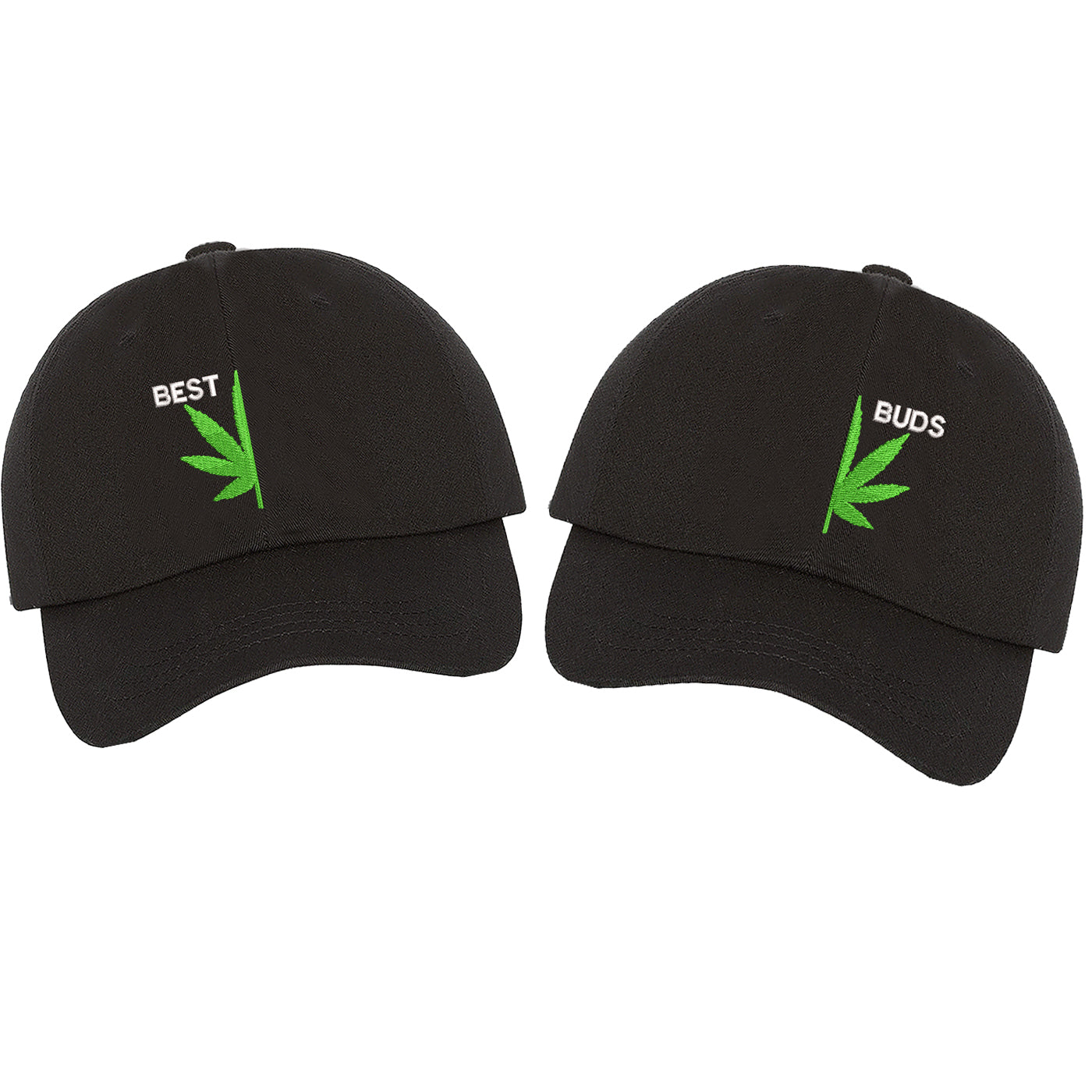 Best Buds Set Black hats - DSY Lifestyle