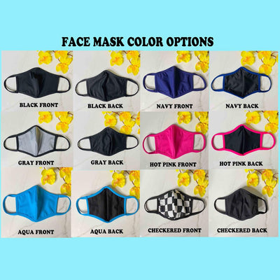 Daisy Flower Face Mask - Unisex Protective Masks