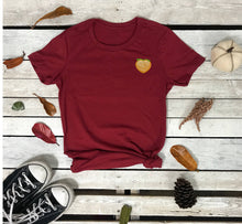 Load image into Gallery viewer, Peach Emoji Tee | Peach Emoji T-Shirt - Prfcto Lifestyle