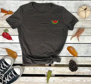 Watermelon Embroidered Women's Tshirt - Prfcto Lifestyle