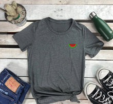 Load image into Gallery viewer, Watermelon Embroidered Women's Tshirt - Prfcto Lifestyle